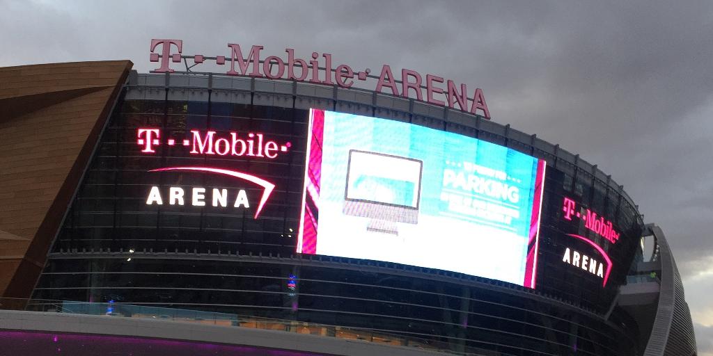 T-Mobile Arena Las Vegas boxeo