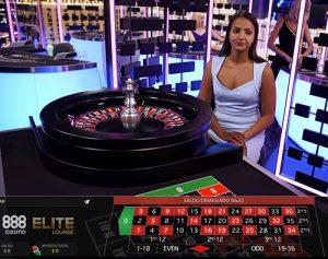 Elite Lounge casino en vivo de 888