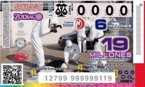 Boleto loteria nacional mexico servicios periciales