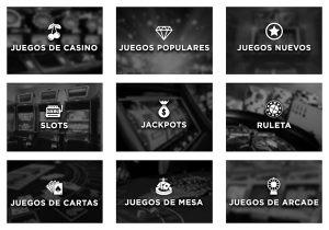 Caliente casino ofrece un listado con sus juegos más destacados