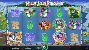 Holly Jolly Penguins juego tragamonedas online