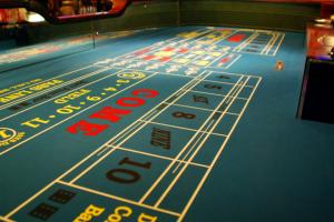Mesa dados casino