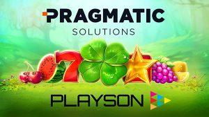 Playson acuerdo Pragmatic Solutions