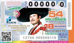 Sorteo Mayor 3713 Lotería Nacional