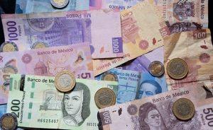 Moneda mexicana pesos