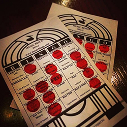 Tarjetas Bingo Music Mexico