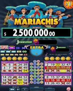 Juego Video Bingo Mariachis Zitro