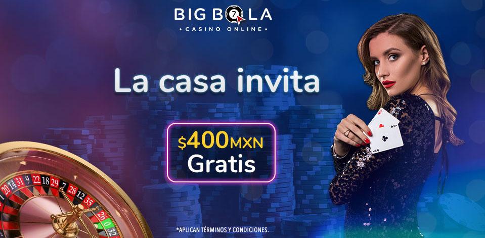Onlinebigbola Bono Registro $400 MX