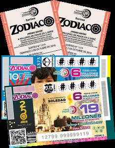 Boletos Sorteo Zodiaco