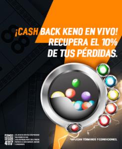 Cashback Keno en Vivo Strendus