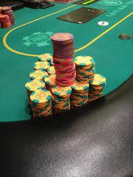 Fichas mesa casino