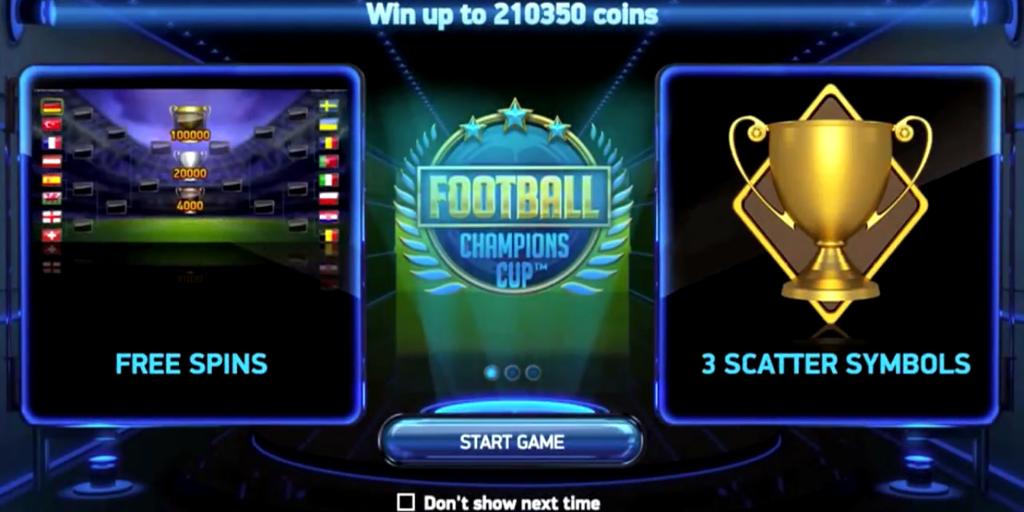 Football champions cup tragamonedas online netent