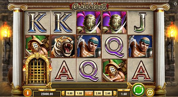 Game of Gladiators tragamonedas