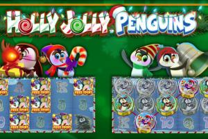 Holly Jolly Penguins slot online casino