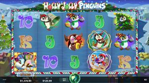Holly Jolly Penguins juego tragamonedas online
