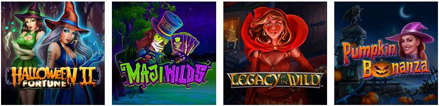 Juegos promoción Aventura Espeluznante Caliente Casino online