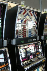 Máquina tragamonedas casino