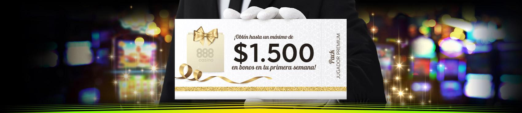 Pack bienvenida 888 casino