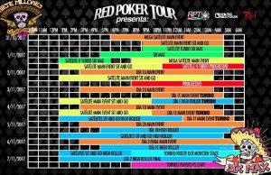 Programa eventos poker Cancun RPT