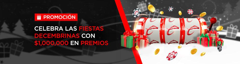 Promoción Fiestas Decembrinas 2019 Caliente Casino