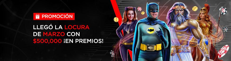 Promoción Locura de Marzo 2020 Caliente Casino online