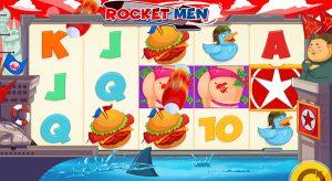 Rocket men slot en linea trump kim jong un