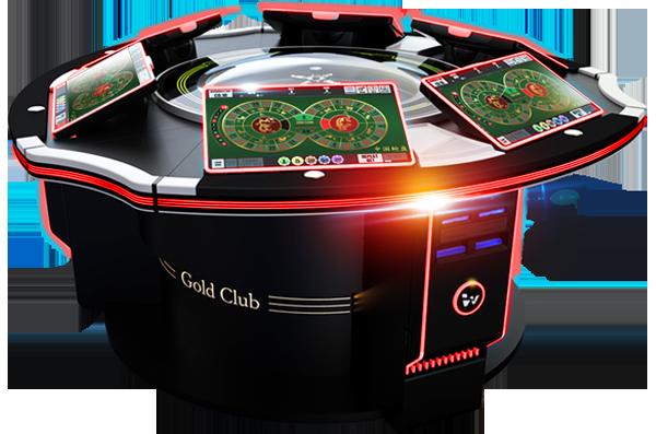 Ruleta electrónica multijugador Gold Club