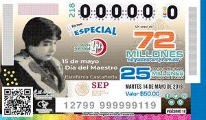 Sorteo Especial 218