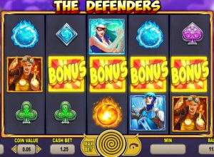 The Defenders slot