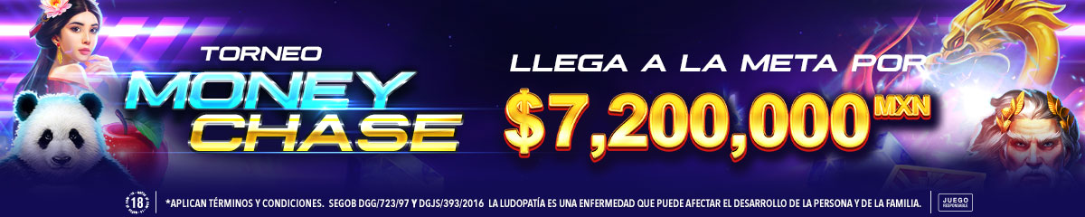 Torneo Money Chase Boongo Big Bola casino