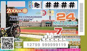 Sorteo Zodiaco 1472
